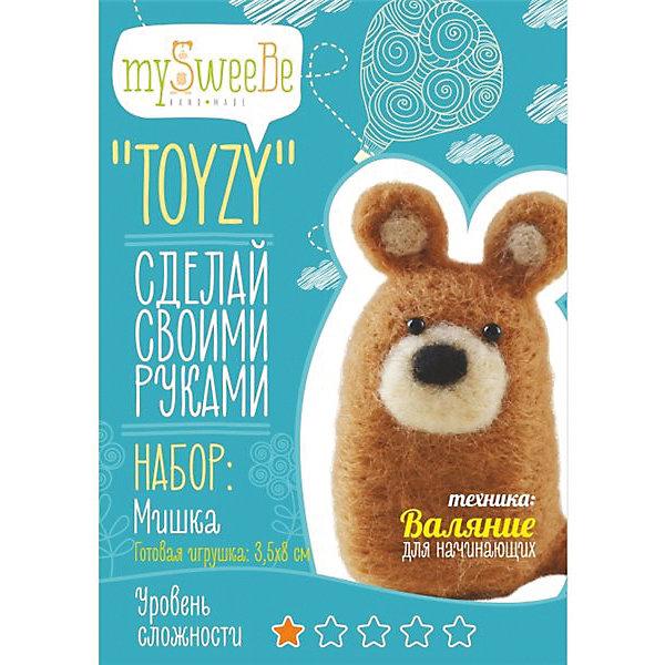 TOYZY Набор для валяния Toyzy Мишка toyzy набор для валяния toyzy божья коровка