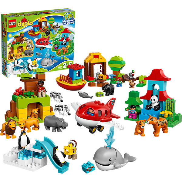 LEGO LEGO DUPLO 10805: Вокруг света детское лего sluban airbus lego b0366