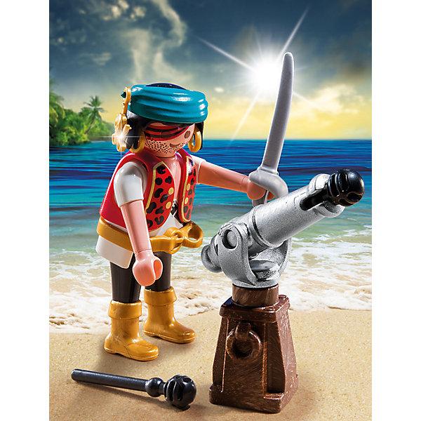 PLAYMOBIL® Конструктор Playmobil Экстра-набор Пират с пушкой