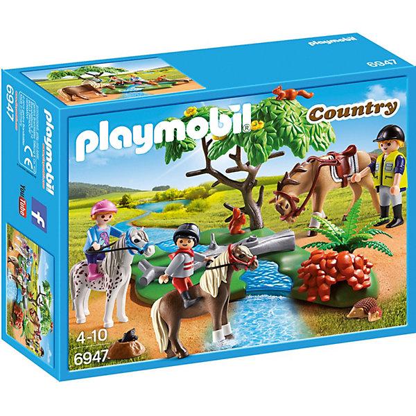 PLAYMOBIL® Конструктор Playmobil Ферма Пони Верховая езда
