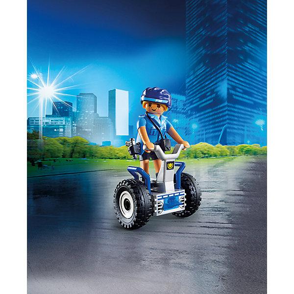 PLAYMOBIL® Конструктор Playmobil Полиция Полицейский на балансирующей гоночной машине