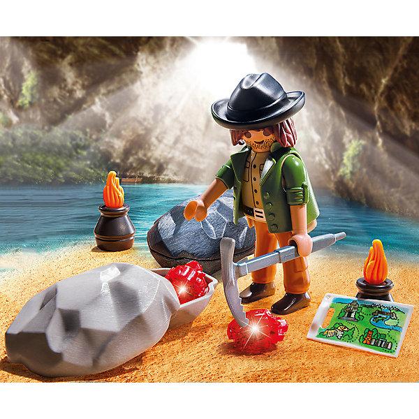 PLAYMOBIL® Конструктор Playmobil Экстра-набор Охотник за драгоценными камнями