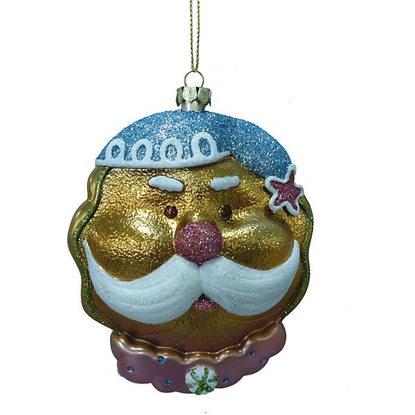 УкрашениеЁлочные игрушки<br>Украшение – это декоративное украшение принесет в ваш дом ни с чем несравнимое ощущение волшебства!<br>Оригинальное новогоднее украшение прекрасно подойдет для праздничного декора дома и новогодней ели. Украшение выполнено из пластика в виде головы Дедушки Мороза в голубом колпаке и с пышными белыми усами. Украшение декорировано блестками. С помощью специальной петельки его можно повесить в любом понравившемся вам месте. Но, конечно, удачнее всего такая игрушка будет смотреться на праздничной елке. Оригинальный дизайн и красочность исполнение создадут праздничное настроение. Новогодние украшения приносят в дом волшебство и ощущение праздника и создают атмосферу тепла, веселья и радости.<br><br>Дополнительная информация:<br><br>- Размер: 9,5 x 4,5 x 12 см.<br>- Материал: пластик<br><br>Украшение можно купить в нашем интернет-магазине.