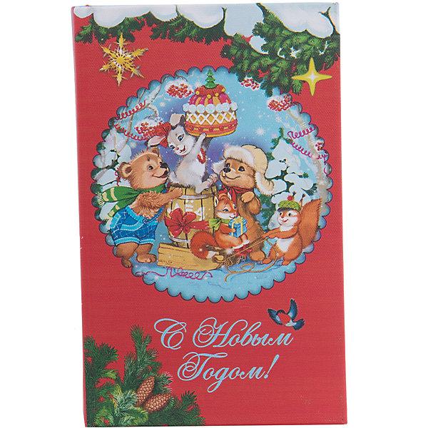 Шкатулка Лесные зверюшкиУпаковка новогоднего подарка<br>Шкатулка Лесные зверюшки, Феникс-Презент, замечательно украсит Ваш новогодний интерьер и станет приятным сувениром для родных и друзей. Оригинальная шкатулка выполнена в форме книги и украшена красочным изображением очаровательных лесных зверюшек и новогодних украшений, закрывается на магнит. Симпатичный сувенир порадует и взрослых и детей и прекрасно подойдет для хранения мелочей и украшений.<br><br>Дополнительная информация:<br><br>- Материал: дерево (МДФ). <br>- Размер шкатулки: 17 х 11 х 5 см.<br>- Размер упаковки: 18 x 12 x 6 см.<br>- Вес: 0,307 кг. <br><br>Шкатулку Лесные зверюшки, Феникс-Презент, можно купить в нашем интернет-магазине.<br>Ширина мм: 60; Глубина мм: 120; Высота мм: 180; Вес г: 307; Возраст от месяцев: 36; Возраст до месяцев: 2147483647; Пол: Унисекс; Возраст: Детский; SKU: 4276551;