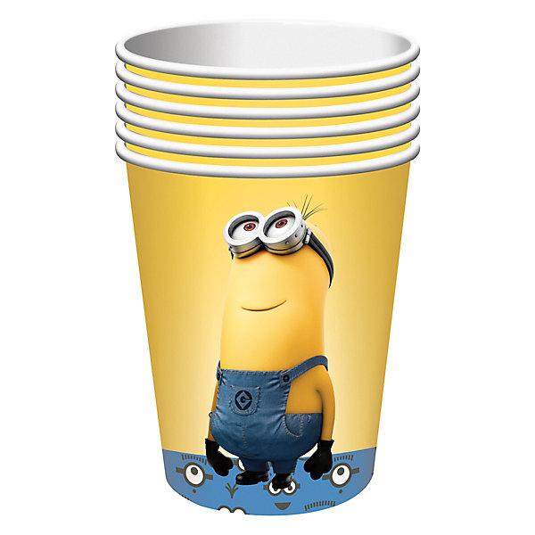 Росмэн Набор стаканов Миньоны (210 мл, 6 шт) набор одноразовых стаканов buffet biсolor цвет оранжевый желтый 200 мл 6 шт