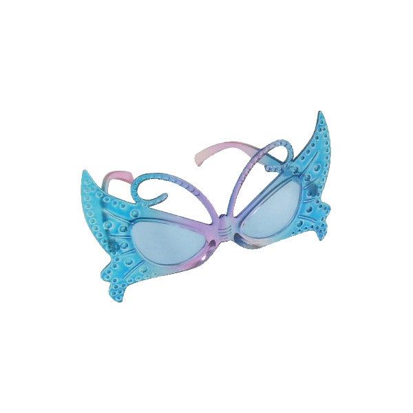 """Фотография товара карнавальные очки """"Голубая бабочка"""" (4280632)"""