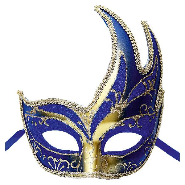 Карнавальная маска Жар-птица, синяяДетские карнавальные маски<br>Карнавальная маска Жар-птица, синяя – это возможность превратить праздник в необычное, яркое шоу.<br>Карнавальная маска Жар-птица изготовленная из пластика и украшенная глиттером, внесет нотку задора и веселья в праздник. Эта маска скроет глаза и верхнюю часть лица, что придаст вашей девочке сказочный и мистический вид. Маска станет завершающим штрихом в создании праздничного образа. Изделие крепится на голове при помощи атласной ленты. В этой роскошной маске девочка будет неотразима!<br><br>Дополнительная информация:<br><br>- Размер: 15,6 х 10,3 х 7,5 см.<br>- Цвет: синий, золотистый<br>- Материал: пластик<br><br>Карнавальную маску Жар-птица, синюю можно купить в нашем интернет-магазине.<br>Ширина мм: 156; Глубина мм: 103; Высота мм: 75; Вес г: 58; Возраст от месяцев: 36; Возраст до месяцев: 1188; Пол: Унисекс; Возраст: Детский; SKU: 4280650;