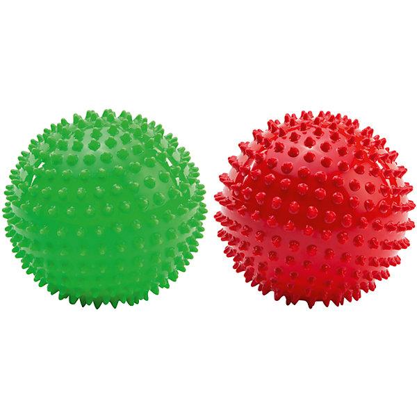Массажно-игровые мячи, 12 см, PicnMixМассажеры<br>Набор из 2-х массажно-игровых мячей синего и светло-зеленого цветов. Мячи способствуют гармоничному развитию всей мускулатуры ребенка, тренировке реакции, координации, цветового и тактильного восприятия. Подходят для игр в воде. Яркие мячики обязательно привлекут внимание малышей.<br><br>Дополнительная информация:<br><br>- Материал: полимер.<br>- Размер: d-12 см.<br>- 2 мяча в наборе.<br>- Цвет: красный, зеленый. <br>- Мячи снабжены ниппелем.<br><br>Массажно-игровые мячи, 12 см, Pic`n Mix, можно купить в нашем магазине.<br>Ширина мм: 304; Глубина мм: 193; Высота мм: 120; Вес г: 282; Возраст от месяцев: 0; Возраст до месяцев: 72; Пол: Унисекс; Возраст: Детский; SKU: 4284791;