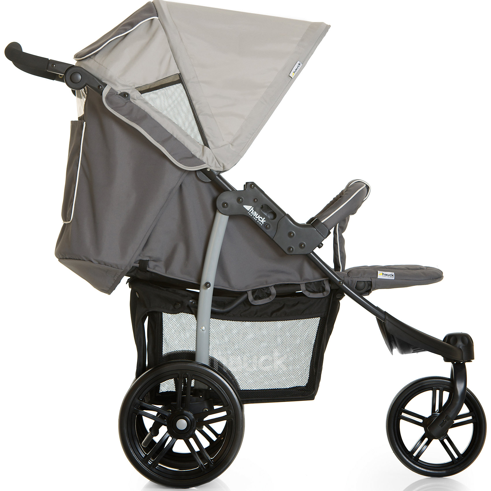 Прогулочная коляска VIPER SLX, Hauck, smoke/grey