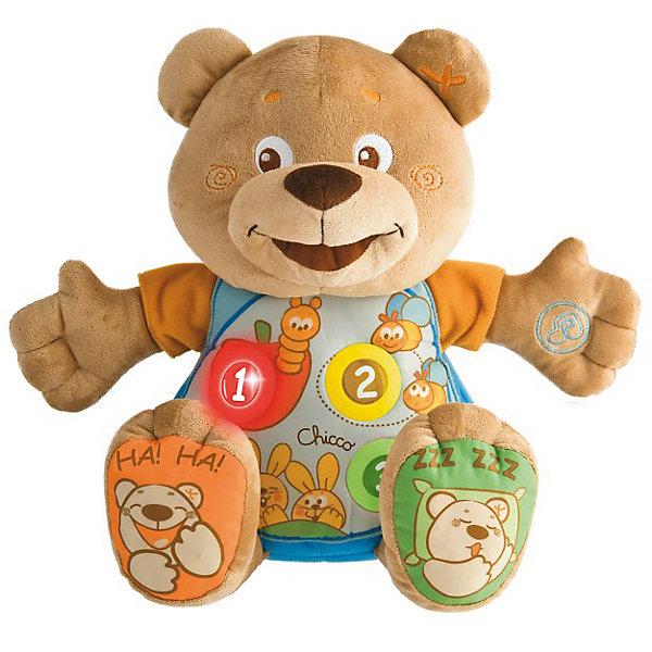 все цены на CHICCO Говорящий мишка Teddy, рус/англ, Chicco онлайн