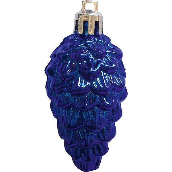Волшебная Страна Синий набор Еловые шишки (12 шт) волшебная страна ёлочное украшение шишки 12 см 4 ед волшебная страна