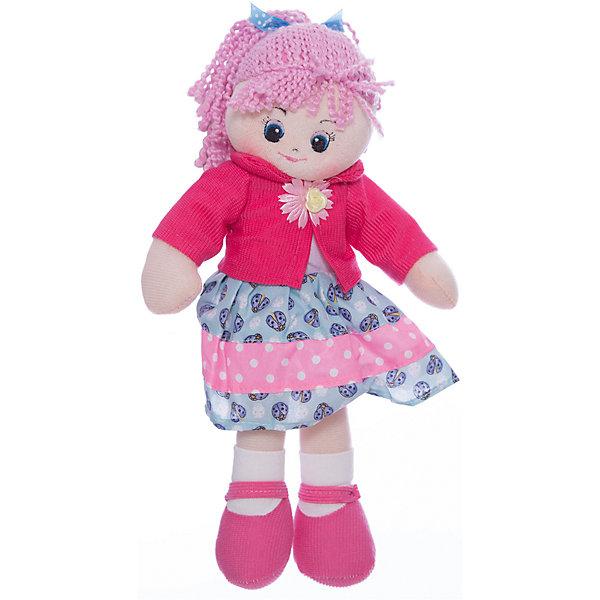 Gulliver Мягкая кукла Gulliver Земляничка, 30 см