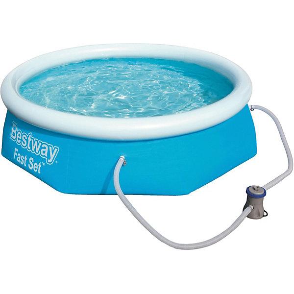 Фотография товара бассейн с надувным бортом с ф.-насосом, 2300 л, Bestway (4292349)