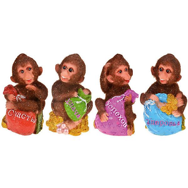 Статуэтка Пушистая обезьянка 6*6*9,5 смНовогодние сувениры<br>Декоративная статуэтка Пушистая обезьянка - прекрасный вариант для праздничного сувенира. Яркая статуэтка в виде символа года будет актуальным подарком абсолютно для каждого!   <br><br>Дополнительная информация:<br><br>- Материал: полистоун.<br>- Размер: 6х6х9,5 см.<br>- 4 фигурки в ассортименте.<br>ВНИМАНИЕ! Данный артикул представлен в разных вариантах исполнения. К сожалению, заранее выбрать определенный вариант невозможно. При заказе нескольких статуэток возможно получение одинаковых.<br><br>Статуэтку Пушистая обезьянка 6х6х9,5 см, можно купить в нашем магазине.<br>Ширина мм: 60; Глубина мм: 60; Высота мм: 950; Вес г: 250; Возраст от месяцев: 36; Возраст до месяцев: 2147483647; Пол: Унисекс; Возраст: Детский; SKU: 4293041;