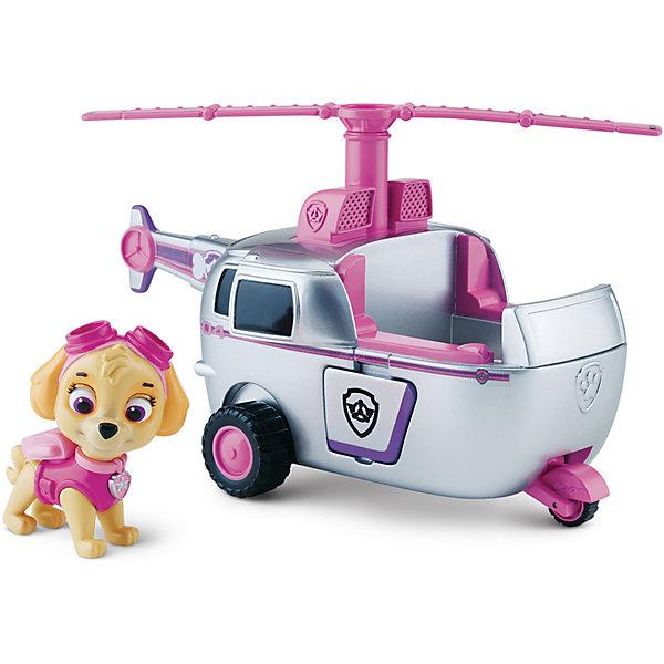 Купить Вертолет спасателя и щенок Скай , Щенячий патруль, Spin Master, Китай, серый, Мужской