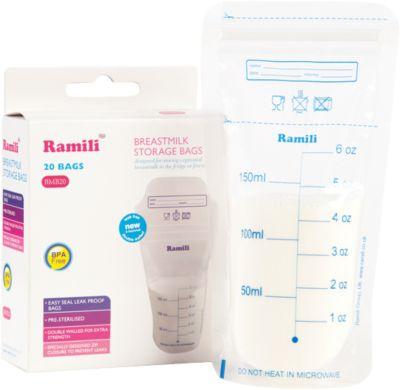 Пакеты для хранения грудного молокаRamili  Breastmilk , артикул:4306746 - Всё для мам