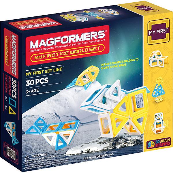 Магнитный конструктор Ice World, 30 деталей, MAGFORMERS Кондрово купить игрушки дешево