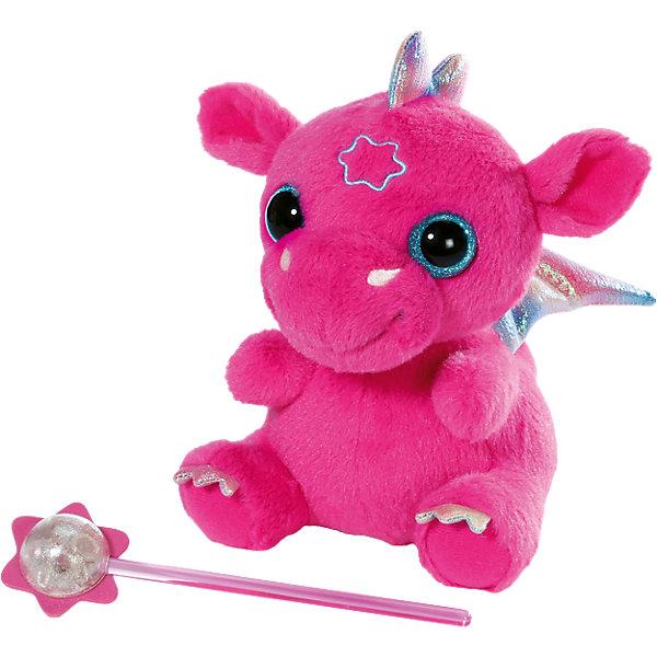 Дракон из Страны чудес, BABY bornИнтерактивные мягкие игрушки<br>Характеристики:<br><br>• тип игрушки: дракон;<br>• возраст: от 3 лет;<br>• тип батареек: 3 x AAA / LR44 (миниатюрные);<br>• наличие батареек: входят в комплект;<br>• размер: 23х18х13 см;<br>• цвет: розовый;<br>• материал: плюш, текстиль, наполнитель, пластик;<br>• комплектация: игрушка, волшебная палочка;<br>• бренд: Zapf Creation;<br>• страна производителя: Китай.<br><br>Дракон из Страны чудес, BABY born представлен в виде ярко-розовой мягкой игрушки со звуковым эффектом.У дракона добродушная мордашка и большие сияющие глазки.<br>Игрушка выполнена из мягкого плюша приятного на ощупь, а крылья, коготки и гребешок - из сверкающего текстиля. На лбу у зверюшки вышита звезда, если поднести к ней волшебную палочку, то дракон начнет издавать забавное урчание. Такой очаровательный дракончик обязательно придется по душе и взрослым, и детям.<br><br>Дракон из Страны чудес, BABY born  можно купить в нашем интернет-магазине.<br>Ширина мм: 187; Глубина мм: 157; Высота мм: 119; Вес г: 182; Возраст от месяцев: 36; Возраст до месяцев: 60; Пол: Женский; Возраст: Детский; SKU: 4315638;