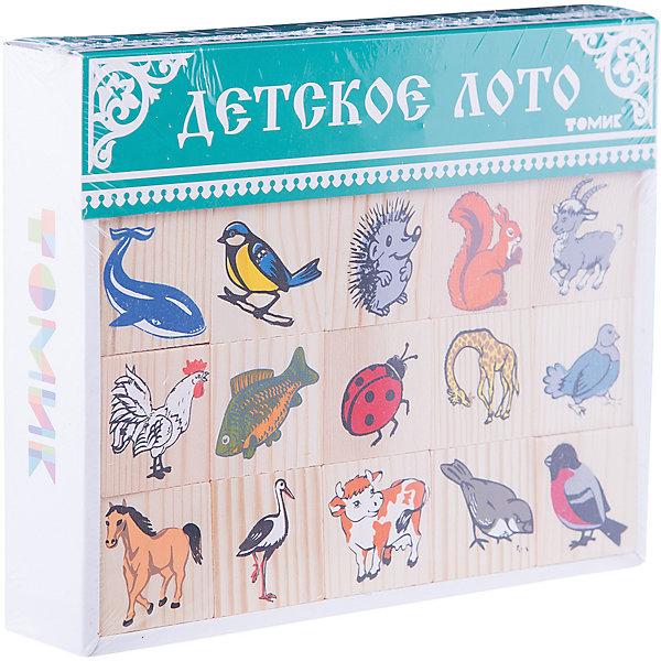 Лото Животный мир, 48 штук,ТомикСпортивные настольные игры<br>Лото Животный мир, 48 штук, Томик – это увлекательная развивающая игра для детей.<br>Лото Животный мир – это лото разработанное специально для малышей. В нем вместо бочонков с цифрами используются фишки с картинками. На картинках изображены представители животного мира: птицы, насекомые, рыбы, звери, в основном знакомые малышу. Рисунки яркие и реалистичные. Играя в лото с друзьями, ребенок сможет познакомиться с разными животными и запомнить их названия. Фишки можно использовать как дидактическое пособие во многих полезных обучающих играх. Как и вся продукция «Томик», детали лото сделаны из экологически чистого дерева, а нанесённые шелкографией рисунки долговечны и надёжны. Игра поможет в развитии речи, коммуникативных навыков, умения играть всем вместе, внимания и разовьет кругозор малыша.<br><br>Дополнительная информация:<br><br>- Комплектация: 48 фишек, 6 карточек<br>- Количество игроков: от 2 до 6 человек<br>- Размер фишек: 4 х 4 см.<br>- Размер карточки: 19 х 10 см.<br>- Материал: древесина, картон<br>- Упаковка: картонная коробка<br>- Размер упаковки: 4 х 21 х 17,2 см.<br>- Вес: 440 гр.<br><br>Лото Животный мир, 48 штук, Томик можно купить в нашем интернет-магазине.<br>Ширина мм: 40; Глубина мм: 210; Высота мм: 172; Вес г: 440; Возраст от месяцев: 36; Возраст до месяцев: 84; Пол: Унисекс; Возраст: Детский; SKU: 4317169;