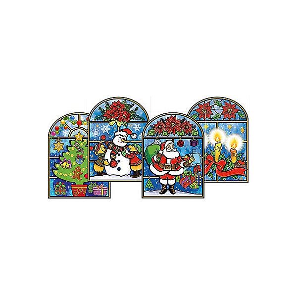 Наклейка на стекло Новогодний вечерНовогодние наклейки на окна<br>Наклейка на стекло Новогодний вечер, в ассортименте – этот новогодний аксессуар создаст в доме праздничную атмосферу.<br>Наклейка на стекло Новогодний вечер – это оригинальное новогоднее украшение, которое в сочетании с елкой довершит чудесное преобразование интерьера перед праздником. Украшение предназначено для декорирования стеклянных поверхностей. С его помощью можно оригинально украсить окна, стекла межкомнатных дверей, а так же зеркальные поверхности.<br><br>Дополнительная информация:<br><br>- В ассортименте 4 дизайна<br>- Размер упаковки: 30 х 20 см.<br>- Вес: 30 гр.<br>- ВНИМАНИЕ! Данный артикул представлен в разных вариантах исполнения. К сожалению, заранее выбрать определенный вариант невозможно. При заказе нескольких наборов возможно получение одинаковых<br><br>Наклейку на стекло Новогодний вечер, в ассортименте можно купить в нашем интернет-магазине.<br>Ширина мм: 300; Глубина мм: 200; Высота мм: 3; Вес г: 30; Возраст от месяцев: 36; Возраст до месяцев: 2147483647; Пол: Унисекс; Возраст: Детский; SKU: 4319567;