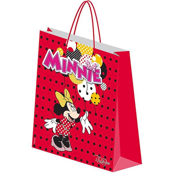 Академия групп Подарочный пакет Минни Маус 28*34*9 см пакет подарочный правила успеха щелкунчик 30 х 38 см