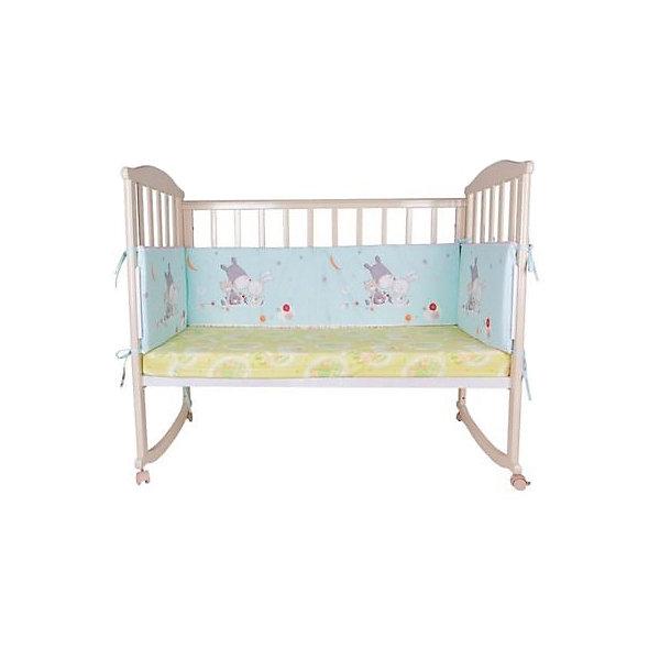 Soni Kids Бортик в кроватку Лунные сны kids, бирюзовый