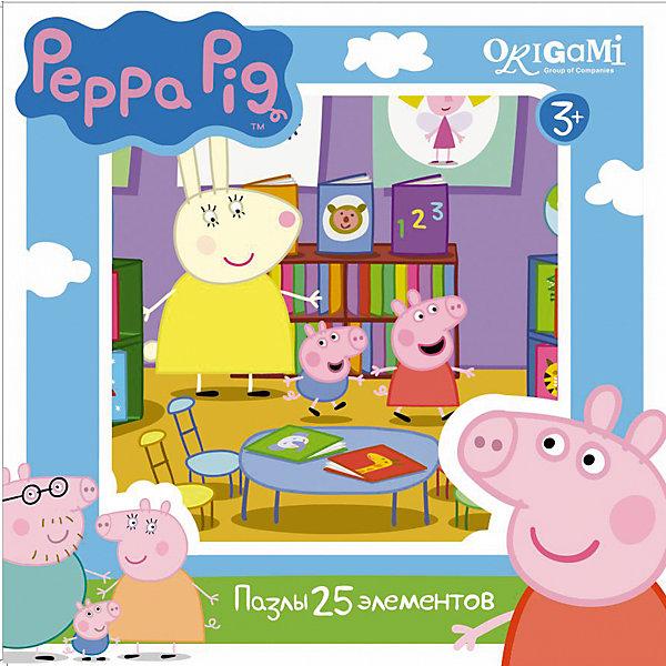 Origami Пазл 25 деталей, Свинка Пеппа big конструктор любимый дом свинка пеппа 107 деталей