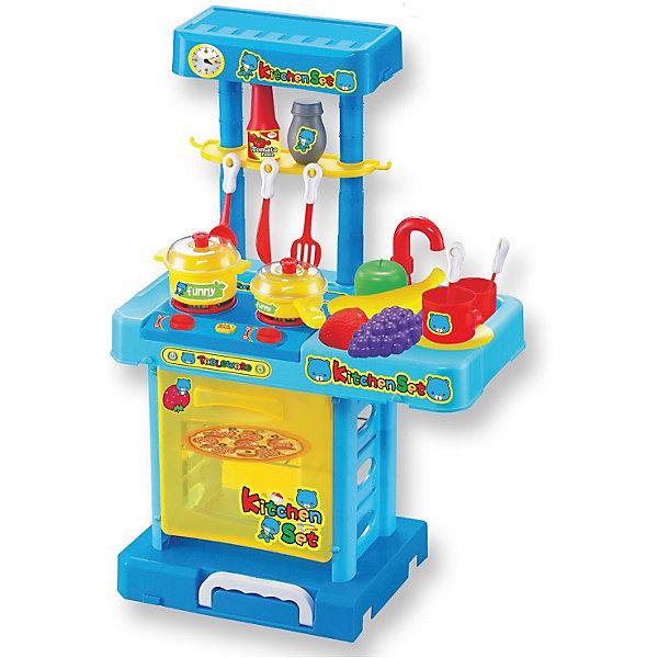 ALTACTO Игровой набор Маленькая кухня в чемоданчике, сборная, со звуком и светом, ALTACTO игровой набор polesie маленькая принцесса 1 в чемоданчике