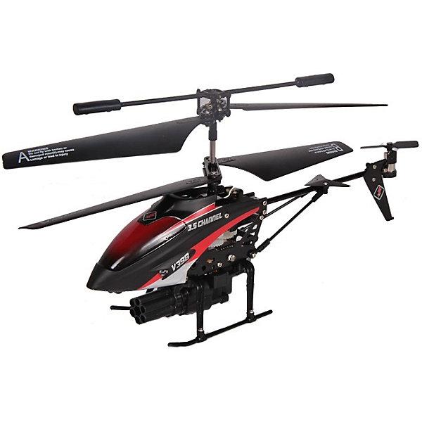 Вертолет -штурмовик Blazer , с гироскопом, д/у, 22 см, MioshiTechРадиоуправляемые вертолёты<br>Это настоящий боевой вертолёт, снабжённый восемью ракетами! У вашего противника не останется ни единого шанса на победу, ведь игрушка может выстреливать как по одной ракете, так и запустить все сразу. Уверенный полёт, ударопрочный корпус, эффектная подсветка - всё, что нужно настоящей грозе небес! Если же вы еще ни разу не держали в руках пульт управления, но уже хотите удивлять друзей своим умением виртуозно управлять вертолётом, то просто нажмите на кнопку Demo, и он начнёт выполнять уже запрограммированные действия. Устраивайте соревнования по скорости и меткости со своими друзьями, научитесь в совершенстве маневрировать и совершать мягкую посадку, чтобы стать пилотом высшего класса. Особенности: 3,5 канала, гироскоп, автопилот. В комплекте: 8 ракет, USB зарядка, 2 запасных лопасти, 2 хвостовых винта. Размер: 22 см<br>Ширина мм: 335; Глубина мм: 285; Высота мм: 90; Вес г: 611; Возраст от месяцев: 96; Возраст до месяцев: 1188; Пол: Мужской; Возраст: Детский; SKU: 4342845;
