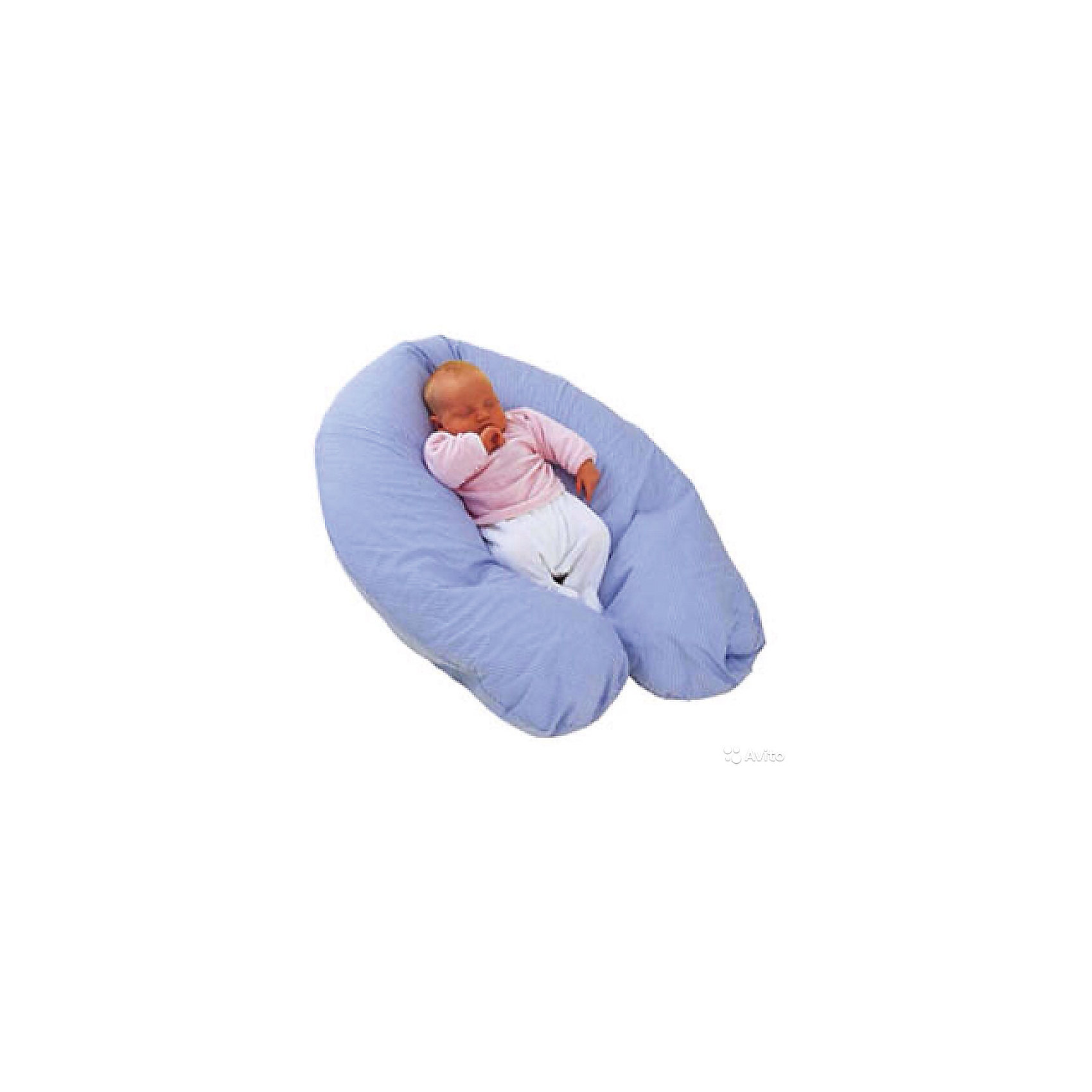 Подушка многофункциональная Comfy Big Marcele, PLANTEX, синий (Plantex)