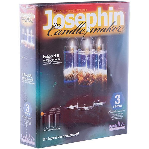 Купить Набор для создания гелевых свечей с ракушками, Фантазер, Россия, Унисекс