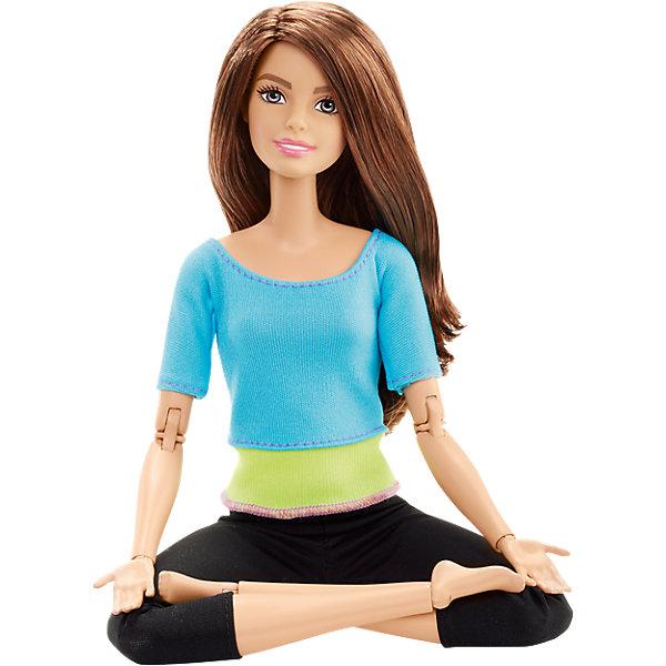 Mattel Кукла Barbie Безграничные движенияшатенка в голубом barbie кукла безграничные движения цвет одежды розовый