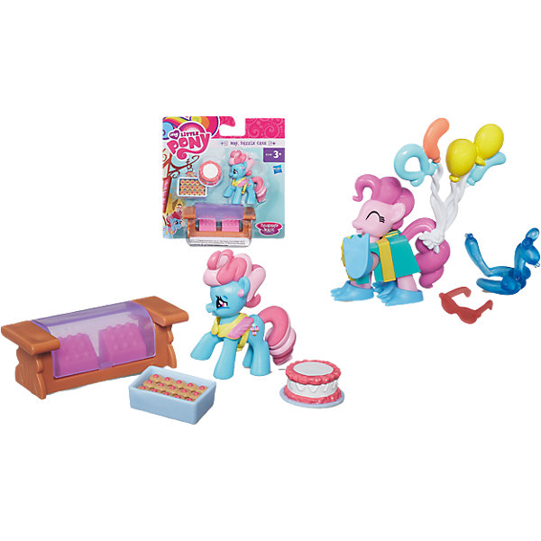 Hasbro Коллекционная пони, с аксессуарами, My little Pony, в ассортименте hasbro пони с блестками my little pony b0357 b3222