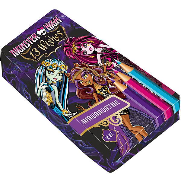 """Фотография товара карандаши цветные """"Monster High"""" (4356955)"""