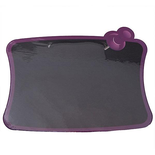 Доска для рисования мелом, 245*180 мм., CENTRUMМеловые<br>Доска для рисования мелом, Centrum, прекрасно подойдет для записей и рисования. Доска выполнена в виде листа бумаги, закрепленного с помощью розовой кнопки. Записи или рисунки можно легко стереть обычной тряпкой или губкой. Доска изготовлена из ламинированного картона, имеется специальная ручка для переноски или для подвешивания. <br><br>Дополнительная информация:<br><br>- Цвет: черный.<br>- Материал: ламинированный картон.  <br>- Размер доски: 24,5 х 18 см. <br>- Размер упаковки: 0,3 х 26,5 х 19,5 см.<br>- Вес: 93 гр. <br><br>Доску для рисования мелом, Centrum, можно купить в нашем интернет-магазине.<br>Ширина мм: 3; Глубина мм: 265; Высота мм: 195; Вес г: 93; Возраст от месяцев: 36; Возраст до месяцев: 120; Пол: Унисекс; Возраст: Детский; SKU: 4356983;