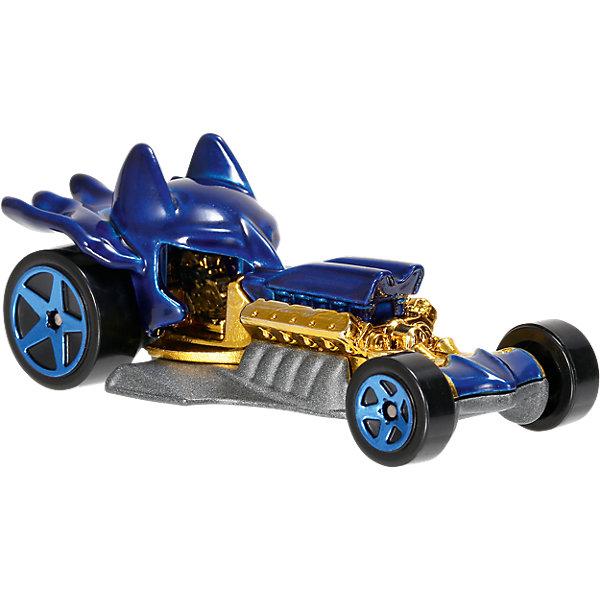 Mattel Машинки персонажей DC , Hot Wheels, в ассортименте hot wheels hw91602 машинка хот вилс на батарейках свет звук красная 13 см