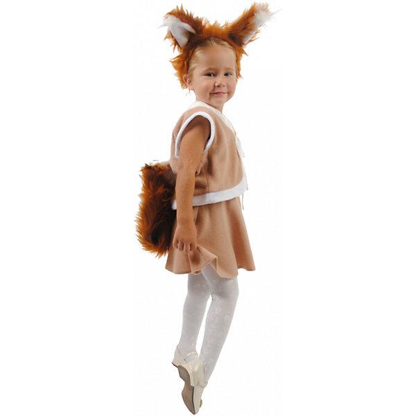Вестифика Карнавальный костюм для девочки Белочка, Вестифика incity карнавальный костюм единорог
