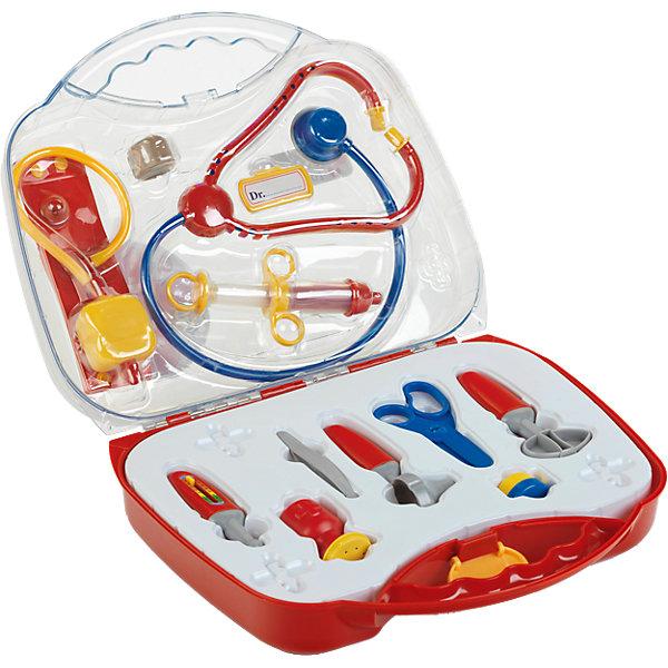 Игровой набор Klein Чемоданчик доктора, большой, 13 предметов