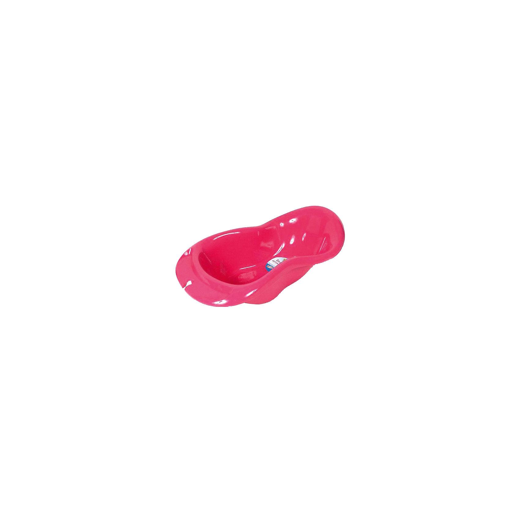 Ванна детская, Пластишка, розовый