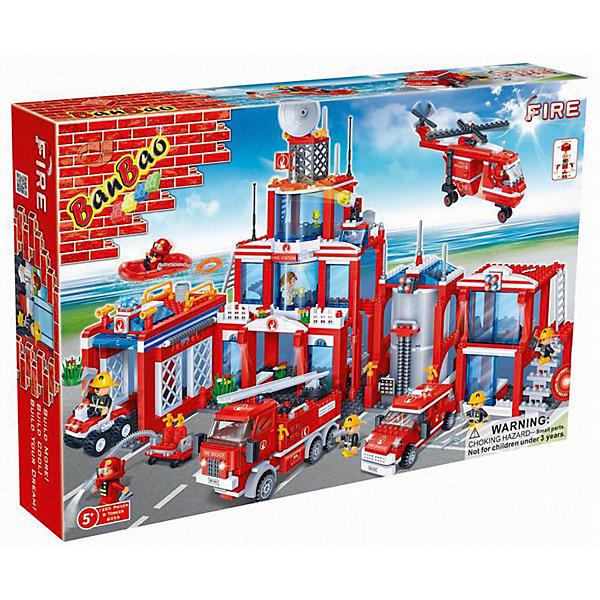 Купить Конструктор Пожарная станция , BanBao, Китай, Мужской