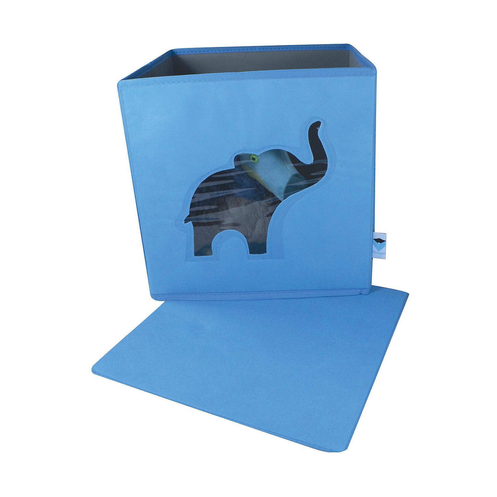 Коробка с крышкой для хранения Store it Слон по цене 1 399