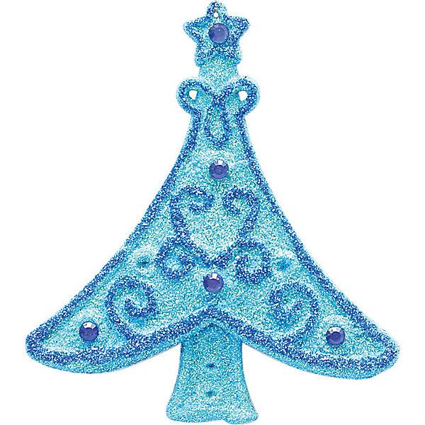 Украшение Ёлочка 13*12 смЁлочные игрушки<br>Украшение Ёлочка, Marko Ferenzo, замечательно украсит Вашу новогоднюю елку или интерьер и создаст праздничное настроение. Украшение выполнено в виде нарядной голубой елочки, красиво декорированной синими узорами. <br><br>Дополнительная информация:<br><br>- Цвет: голубой, синий.<br>- Размер украшения: 13 х 12 см.<br><br>Украшение Ёлочка, Marko Ferenzo, можно купить в нашем интернет-магазине.