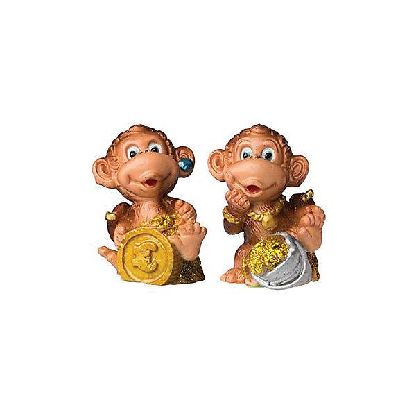 Сувенир Обезьянка с монетой, Marko FerenzoНовогодние сувениры<br>Сувенир Обезьянка с монетой – эта забавная фигурка принесет радость и удачу и поднимет настроение.<br>Сувенир Обезьянка с монетой станет замечательным презентом коллеге и другу, а также милым аксессуаром в праздничном интерьере. Ведь считается, что каждый год нужно иметь статуэтку с изображением символа года, чтобы она приносила в дом удачу. А эта обезьянка будет еще и притягивать деньги и принесет материальный достаток в Ваш дом.<br><br>Дополнительная информация:<br><br>- В ассортименте 2 вида<br>- Высота: 5 см.<br>- Материал: полистоун<br>- ВНИМАНИЕ! Данный артикул представлен в разных вариантах исполнения. К сожалению, заранее выбрать определенный вариант невозможно. При заказе нескольких сувениров возможно получение одинаковых<br><br>Сувенир Обезьянка с монетой можно купить в нашем интернет-магазине.<br>Ширина мм: 35; Глубина мм: 35; Высота мм: 50; Вес г: 333; Возраст от месяцев: 36; Возраст до месяцев: 2147483647; Пол: Унисекс; Возраст: Детский; SKU: 4418946;