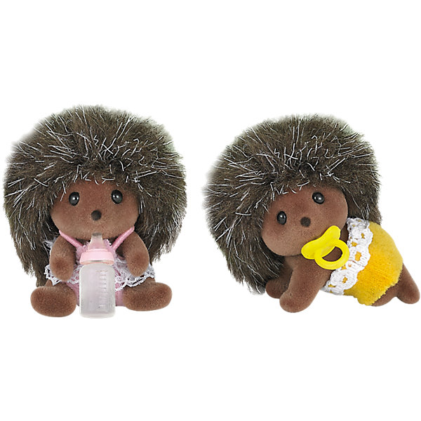 Epoch Traumwiesen Набор Ежата-двойняшки, Sylvanian Families фигурки игрушки sylvanian families фигурки игрушки