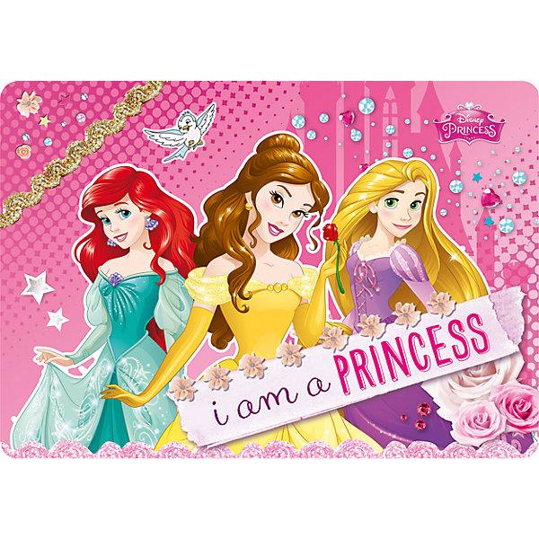 Академия групп Подкладка на стол А4, Принцессы Дисней