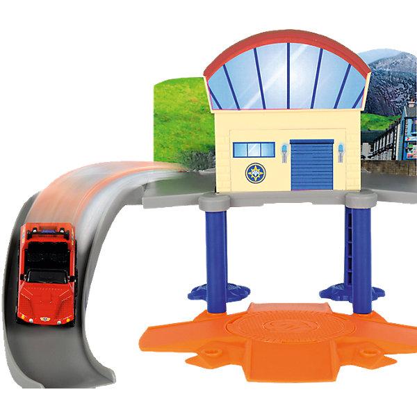 Dickie Toys Морской гараж с машинкой, Пожарный Сэм, Dickie игрушка dickie toys набор машинок 3745000