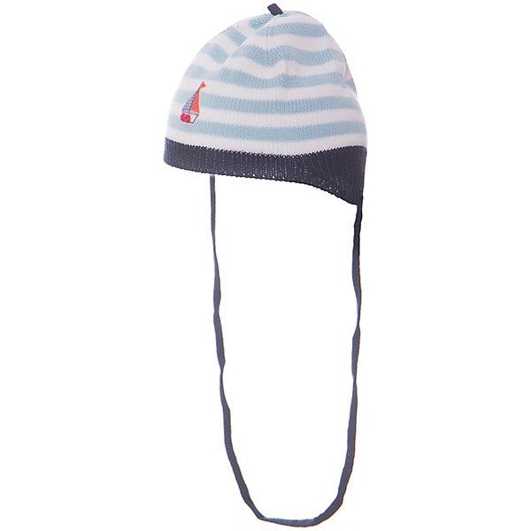 Шапка для мальчика АртельШапочки<br>Шапка для мальчика от торговой марки Артель <br><br>Модная шапка отлично смотрится на детях и комфортно сидит. Изделие выполнено из качественных материалов, вязка плотная. Натуральный хлопок обеспечит износостойкость и удобство. Отличный вариант для переменной погоды межсезонья! <br>Одежда от бренда Артель – это высокое качество по приемлемой цене и всегда продуманный дизайн. <br><br>Особенности модели: <br>- цвет - синий; <br>- есть завязки; <br>- украшена аппликацией; <br>- натуральный хлопок. <br><br>Дополнительная информация: <br><br>Состав: 100% хлопок.<br><br><br>Температурный режим: <br>От -5 °C до +10 °C <br><br>Шапку для мальчика Артель (Artel) можно купить в нашем магазине.<br>Ширина мм: 89; Глубина мм: 117; Высота мм: 44; Вес г: 155; Цвет: синий; Возраст от месяцев: 1; Возраст до месяцев: 1; Пол: Мужской; Возраст: Детский; Размер: 38,36,44,42,40; SKU: 4500465;