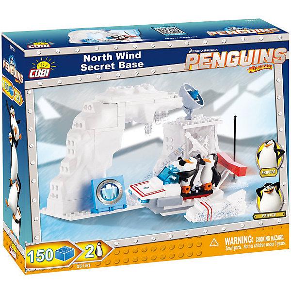Конструктор Секретная база пингвинов на Северном полюсе, Пингвины Мадагаскара, CobiПластмассовые конструкторы<br>Этот конструктор приведет в восторг всех поклонников мультфильма Пингвины Мадагаскара. Четвёрка пингвинов-шпионов - Шкипер, Ковальски, Рико и Прапор - объединяется с командой Северный ветер, помогающей беззащитным животным. Им предстоит остановить злобного осьминога, доктора Октавиуса Брайна, желающего уничтожить этот мир. Собери секретную базу отважных пингвинов и жди приключений! Конструирование - увлекательный и полезный процесс, развивающий мелкую моторику, мышление и фантазию. Набор прекрасно детализирован и снабжен множеством реалистичных аксессуаров, что открывает простор для всевозможных игр, развивающих воображение ребенка. Все детали конструктора выполнены из высококачественного экологичного пластика, имеют идеально гладкую поверхность и прочно крепятся друг к другу. Прекрасный вариант для подарка на любой праздник.  <br><br>Дополнительная информация:<br><br>- Конструктор развивает усидчивость, внимание, фантазию и мелкую моторику.<br>- Материал: пластик.<br>- Комплектация: 2 фигурки, детали конструктора.<br>- Количество деталей: 150<br>- Размер упаковки: 23 x 25 x 6 см.<br>- Вес: 200 гр.<br><br>Конструктор Секретная база пингвинов на Северном полюсе, Пингвины Мадагаскара, Cobi (Коби), можно купить в нашем магазине.<br>Ширина мм: 230; Глубина мм: 200; Высота мм: 60; Вес г: 400; Возраст от месяцев: 36; Возраст до месяцев: 144; Пол: Мужской; Возраст: Детский; SKU: 4507113;