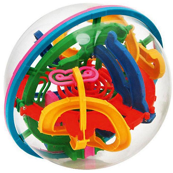 Купить Головоломка Шар-лабиринт 100 шагов Классика , диам. 19см, KAKADU, Китай, Унисекс