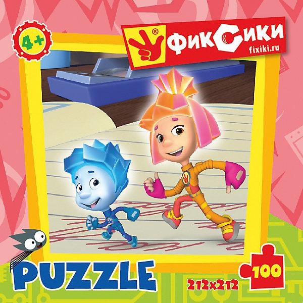Пазл Фиксики 100 деталей, OrigamiПопулярные игрушки<br>Пазл  Фиксики порадует всех поклонников известного детского мультсериала. Пазл за пазлом ребёнок  будет узнавать о весёлых приключениях Фиксиков, они расскажут много интересного  и познавательного. Играя, ребёнок будет развивать свою кругозор, тренировать мелкую моторику, развивать внимание и усидчивость. <br><br>Дополнительная информация:<br><br>- Материал: картон.<br>- Размер пазла 21,2х21,2 см.<br><br>Пазл Фиксики 100 деталей, Origami (Оригами), можно купить в нашем магазине.<br>Ширина мм: 150; Глубина мм: 45; Высота мм: 150; Вес г: 82; Возраст от месяцев: 36; Возраст до месяцев: 96; Пол: Унисекс; Возраст: Детский; Количество деталей: 100; SKU: 4531999;